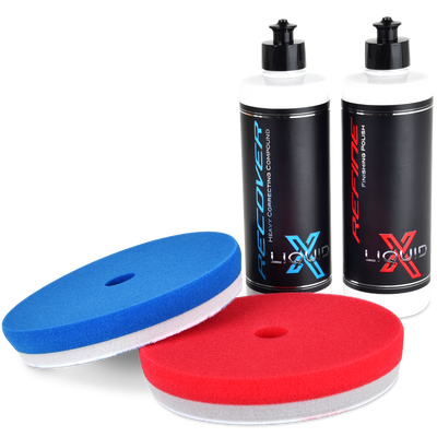 Liquid X Heavy Paint Correction Duo Kit