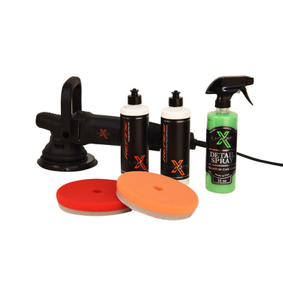 Liquid X Complete Medium Paint Correction DA Polishing Kit