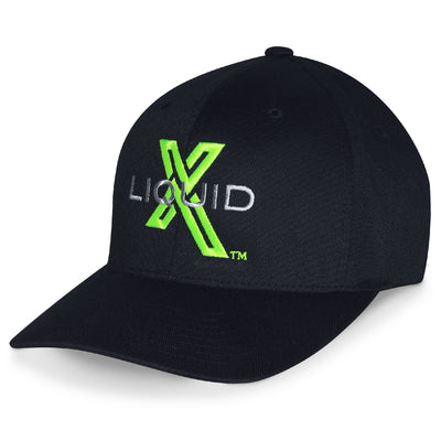 Liquid X Flexfit Hat - Black