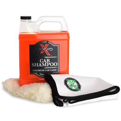 Liquid X Car Shampoo Gallon Kit