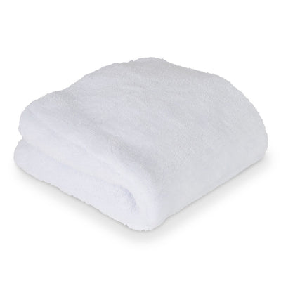 "Liquid X Big White Ultra Thick Microfiber Towel - 16"" x 16"""