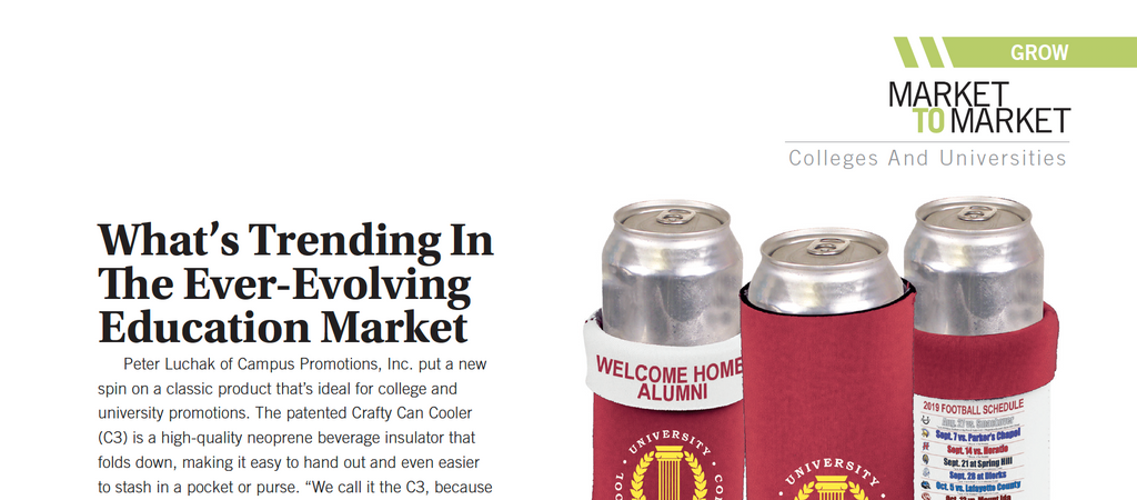 Crafty Can Cooler featured in PPB