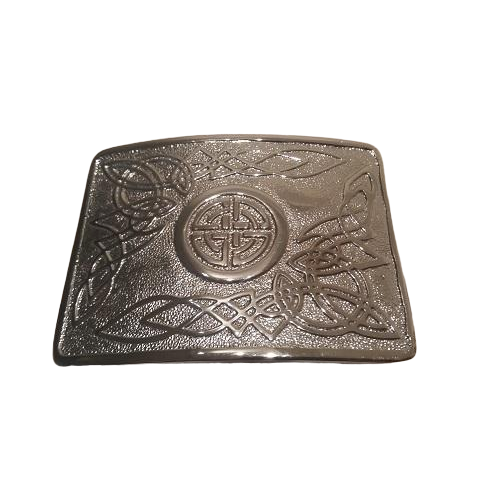 Celtic Themed Kilt Belt Buckle