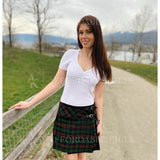 Brown Watch Tartan Skirt