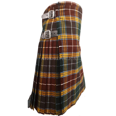 Buchanan Muted Tartan Kilt - Affordable Kilts