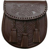 Leather Sporran - Brown