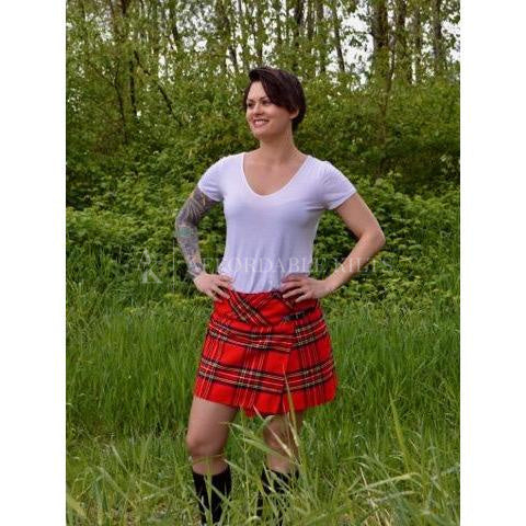 Royal Stewart Tartan Skirt
