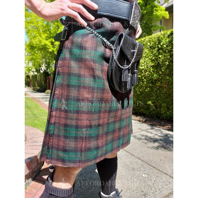 Black Watch Tartan Mini Skirt - Deluxe