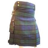 Black Watch Tartan Tartan Utility Kilt