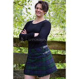 Black Watch Tartan Mini Skirt