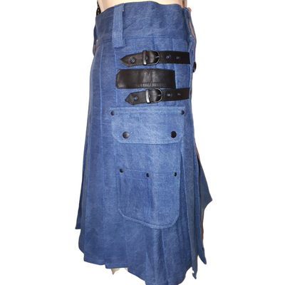 Denim Kilt - Affordable Kilts