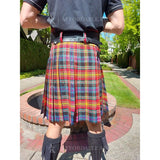 LGBT / Pride Tartan - 13oz - Affordable Kilts