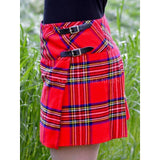 Royal Stewart Tartan Mini Skirt - Deluxe