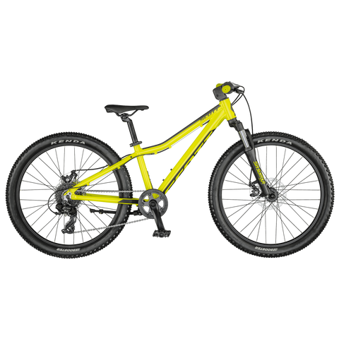 SCOTT SCALE 24 DISC YELLOW BIKE 2021