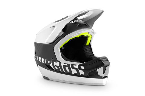 BlueGrass LEGIT CARBON HELMET - BLACK & WHITE (MATT)