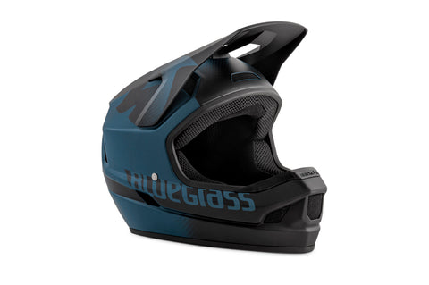BlueGrass LEGIT HELMET - BLUE & BLACK TEXTURE (MATT)