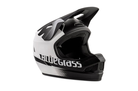 BlueGrass LEGIT HELMET - WHITE & BLACK TEXTURE (MATT)