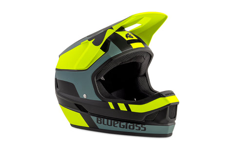 BlueGrass LEGIT HELMET - BLACK, YELLOW & GREY (MATT)