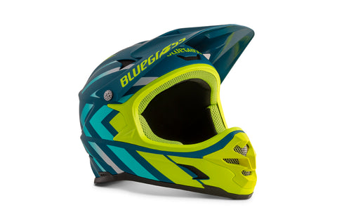 BlueGrass INTOX HELMET - AVIO BLUE & FLUORESCENT YELLOW (MATT)