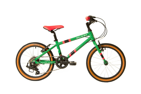 Raleigh Pop 18'' Green 2021 IN STORE NOW!