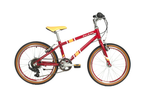Raleigh Pop 20 Plum 2021 Available to pre order