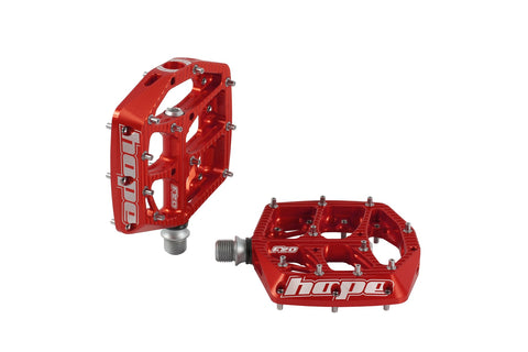 HOPE F20 Pedals - Pair Red