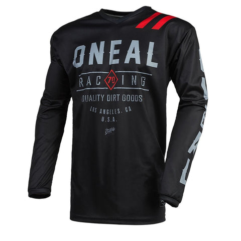 O'Neal Element Dirt Long Sleeve Jersey Black/Grey
