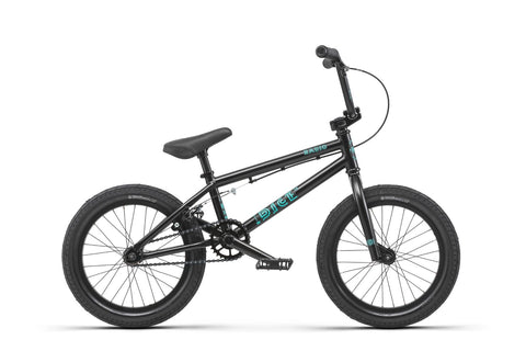 "Radio Dice BMX Bike Matte Black 16"" (15.75""TT)"