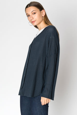 Oversized Button Down Fleece Cardigan | 6 Colors Available