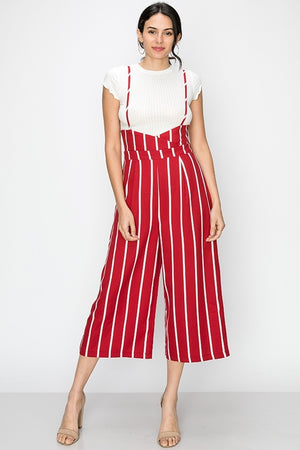 Sriped Overall Pants | 3 Colors