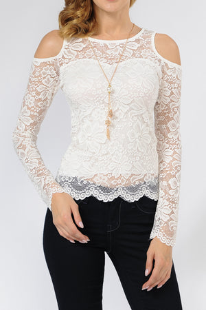 Lace Top | 2 Colors Available