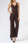 Nylon Metalic Jump Suit | 2 Colors Available
