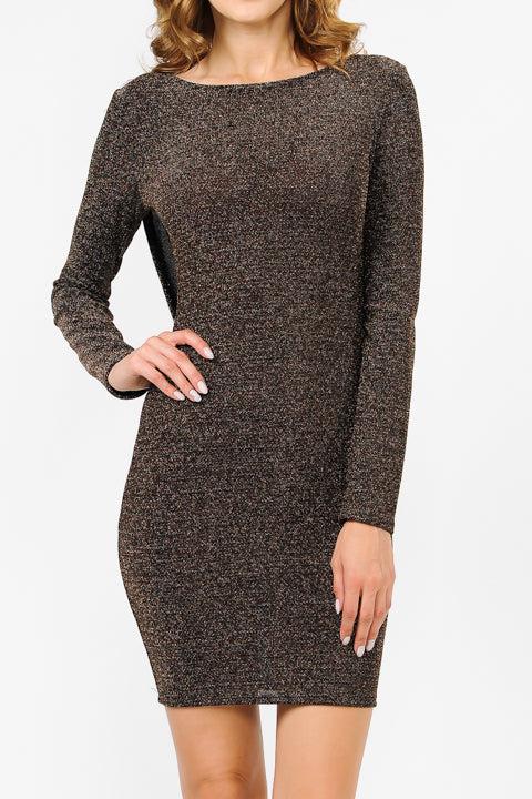 Multi Metalic Dress | 2 Colors Available