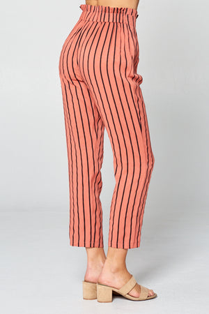 Striped High Waist Pants | 2 Colors