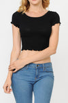 Sweater Rib Top | 2 Colors