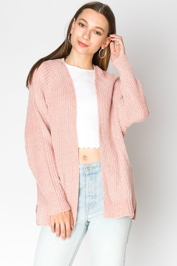 Chenille Cardigan | 4 Colors Available