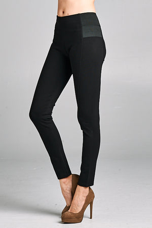 High Waist Ponte Pants | 3 Colors Available
