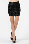 Sequin Highwaisted Bodycon Mini Skirt | 3 Colors Available