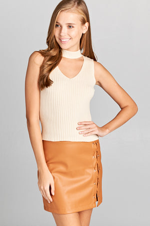 Sleeveless Knit Top | 4 Colors Available