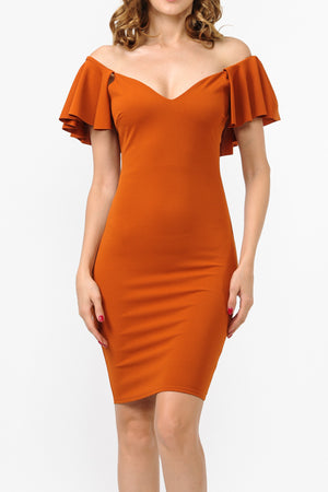 Scuba Crepe Dress | 2 Colors Available