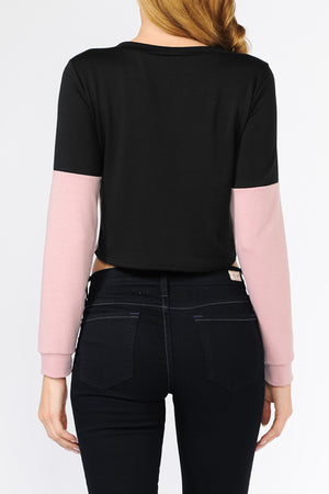 Poly French Terry Top