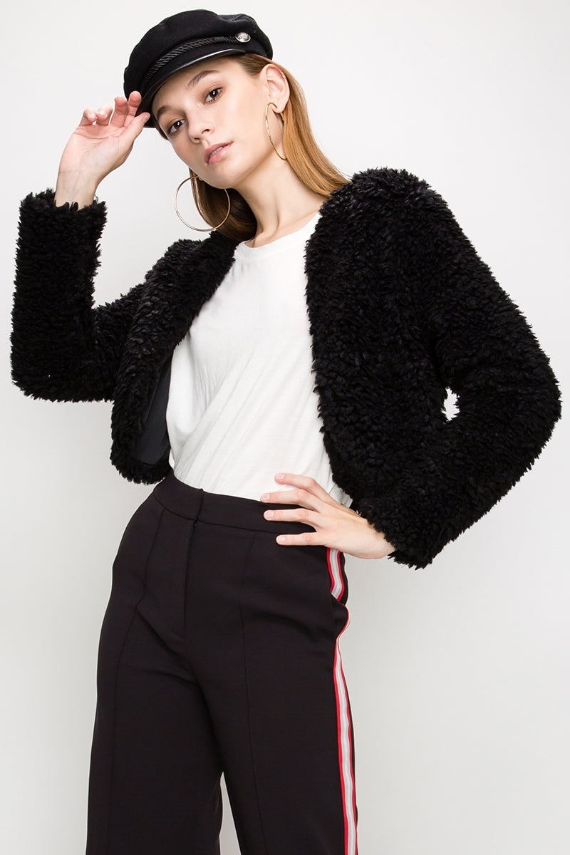 Faux Fur Shrug | 3 Colors Available