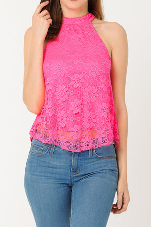 Sleeveless Lace Top | 2 Colors