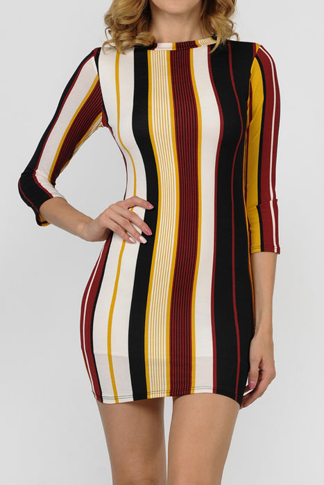 Bulgari Print Dress | 2 Colors Available