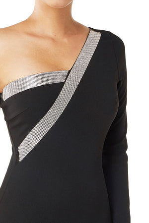 Embellished One Shoulder Dress | 3 Colors Available