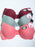 Cotton Blend Solid Color Lace Trim Bra(3pcs/PACK)