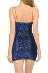 NavyBlue Sequin Cami Dress | 4 Colors Available