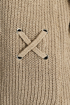 Criss Cross Stitch Sweater | 3 Colors Available