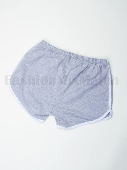 Shorts With White Trim | 5 Colors