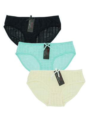 Sexy Illusion Bikini Panty (3pcs/PACK)